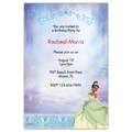 Princess and the Frog Invitations,Disney,Princess Tiana,Party,Customized,Personalized,Princess,Birthday